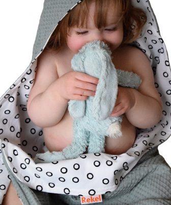 Badcape voor baby en peuter