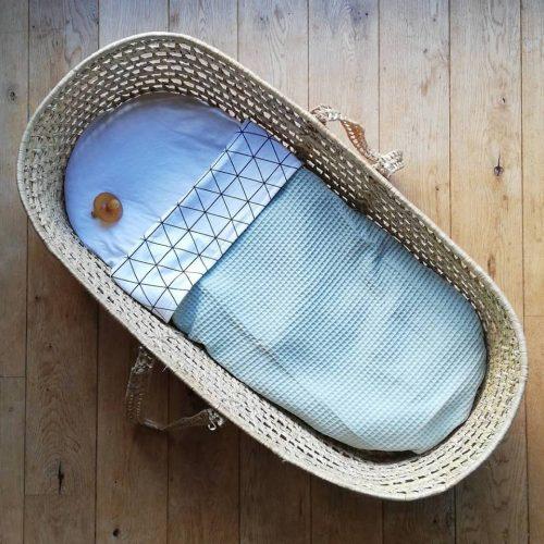 Baby deken wafelstof