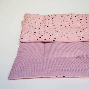 Roze boxkleed