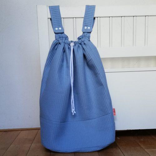 Boxzak oud blauw