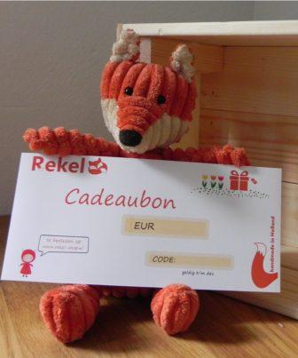 Cadeaubon Rekel