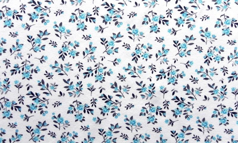 Bloemetjes blauw