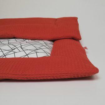 Boxkleed roest- geometrisch