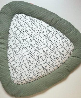 Boxkleed Tripus Groen - Geometrisch
